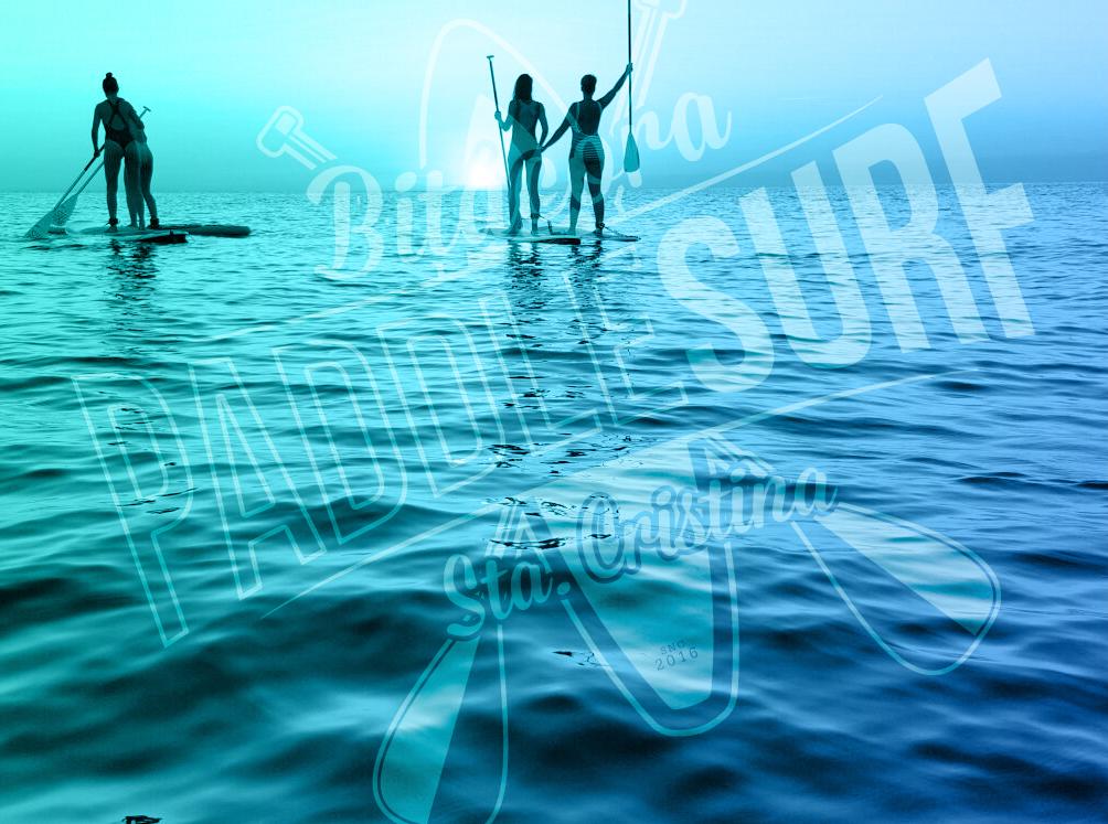 Morning Santa Cristina Paddle Surf