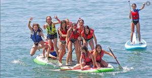 cumpleaños paddle surf