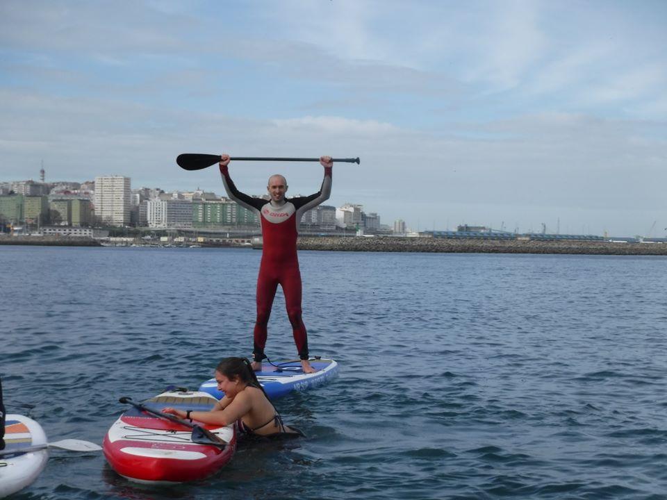 Paddle Surf Bahia de la Coruña